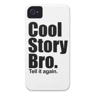 Cool Story Bro. Barely There™ iPhone 4 Cas iPhone 4 Cases