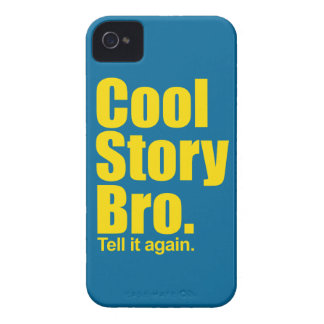 Cool Story Bro. iPhone 4 Cases