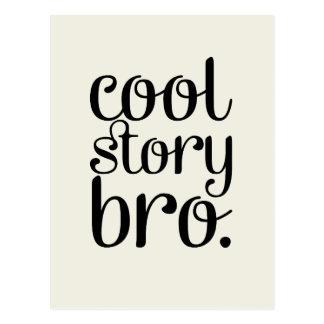 Cool Story Bro Cream Postcard