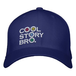 Cool Story Bro Embroidered Hats