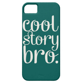 Cool Story Bro Green iPhone 5 Covers