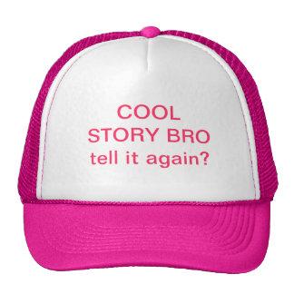 Cool Story Bro Hat. Cap