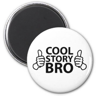Cool Story Bro Internet Meme Refrigerator Magnets