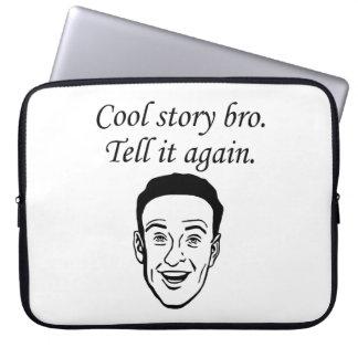 Cool Story Bro Laptop Sleeves