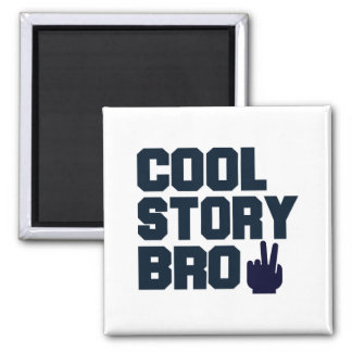 Cool Story Bro Fridge Magnets