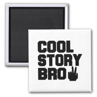 Cool Story Bro Refrigerator Magnet