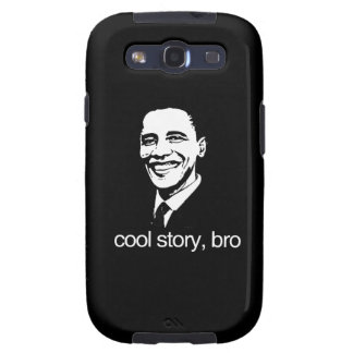 COOL STORY BRO OBAMA png Galaxy S3 Case