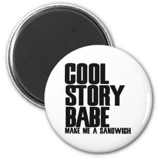 Cool Story Bro Parody Fridge Magnets