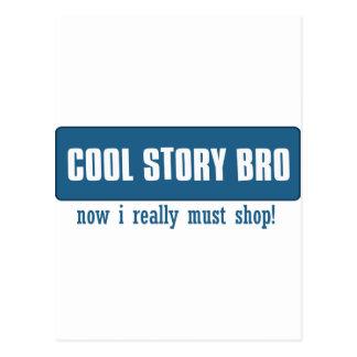 Cool story bro post card