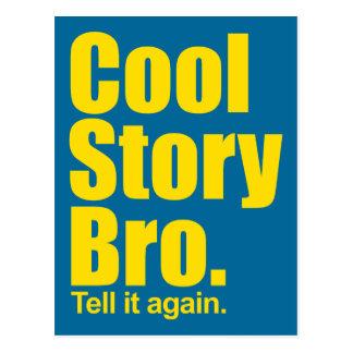 Cool Story Bro. Postcard