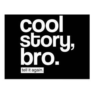 Cool Story, Bro. Tell It Again. postcard