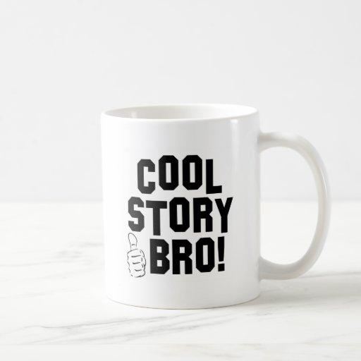 Cool Story Bro! with Thumbs Up Coffee Mugs