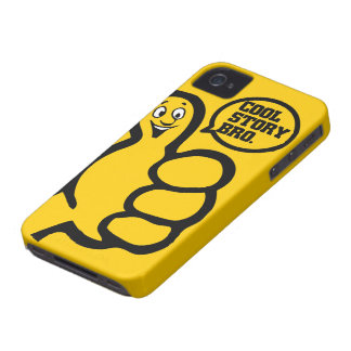 Cool Story Bro (Yellow) iPhone 4 Case