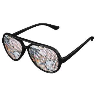 Cool Street Style Funky Graffiti Skater Glasses