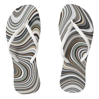 COOL Stylish Curvy Flip Flops