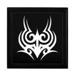 Cool Stylish Elegant Classic Black White Tribal Gift Box