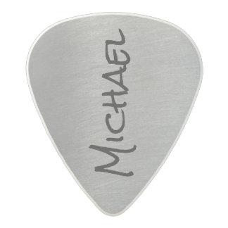 cool & stylish gray rock acetal guitar pick