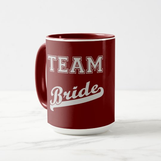 Cool Stylish Team Bride Mug