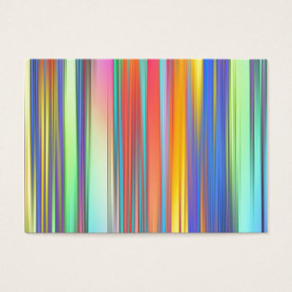 Cool Summer Stripes Business Card
