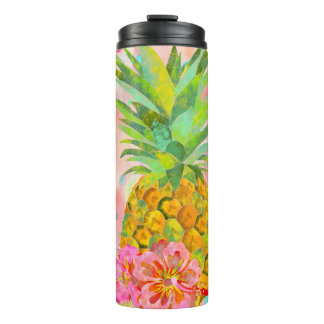Cool summer symbols thermal tumbler