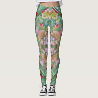 Cool Summertime Floral Leggings