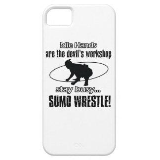 cool sumo wrestle  designs iPhone 5 cover