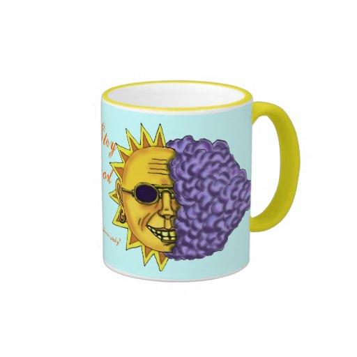 Cool sun mug design