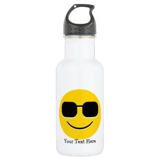Cool Sunglasses Emoji 532 Ml Water Bottle