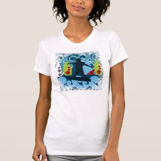 Cool Surfer Dude Surfing Beach Ocean Surf Waves Shirt