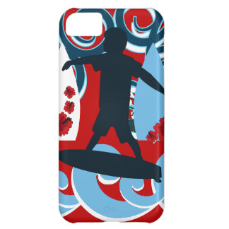 Cool Surfer Dude Surfing Beach Ocean Wave Surf Case For iPhone 5C