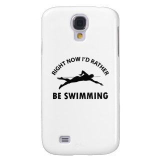 Cool swimming designs galaxy s4 case