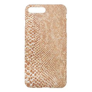 Cool Tan Snake Skin Pattern iPhone 8 Plus/7 Plus Case