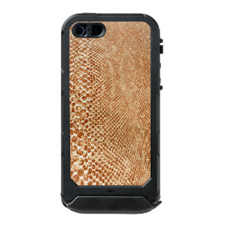 Cool Tan Snake Skin Pattern Photo Print Incipio ATLAS ID™ iPhone 5 Case