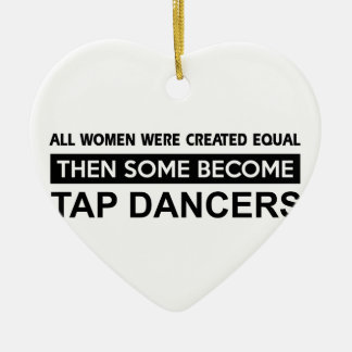 Cool Tap Dancing designs Christmas Ornament