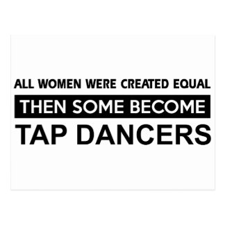 Cool Tap Dancing designs Postcard