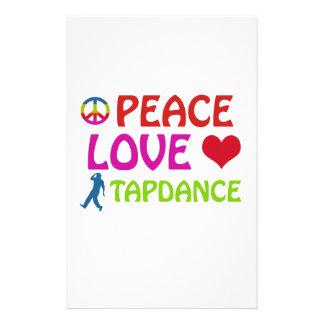 Cool Tapdance designs Stationery