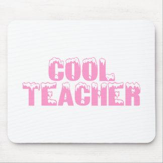 Cool Teacher Pink Mousepads