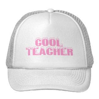 Cool Teacher Pink Trucker Hat