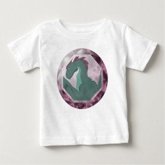 Cool Teal And Pink Dragon Gem Shirt