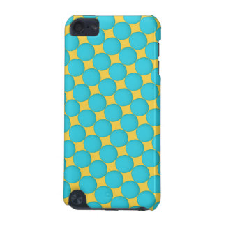 Cool Teal Yellow Polka Dots iPod Touch (5th Generation) Case