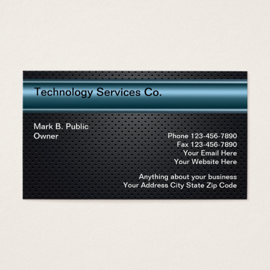 Cool Technology Business Cards