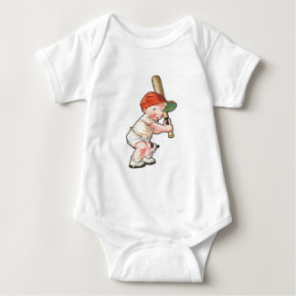 Cool Tee with Baby Baseball Player