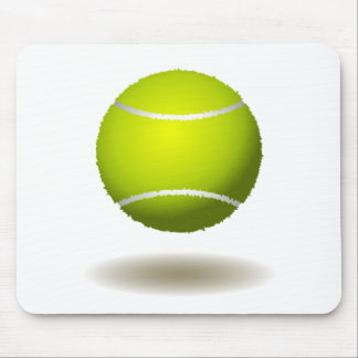 Cool Tennis Emblem 2 Mouse Pad