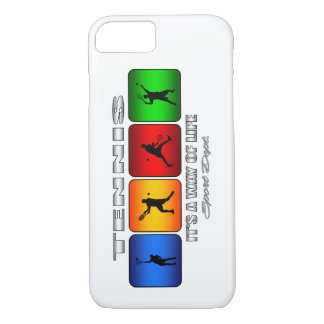 Cool Tennis It Is A Way Of Life (Male) iPhone 7 Case