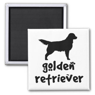 Cool Text Golden Retriever Magnet