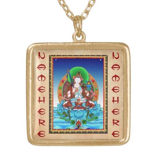 Cool thangka Akasagarbha Bodhisattva Mahasattva Custom Jewelry