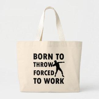 Cool Throw shotput Designs Tote Bags