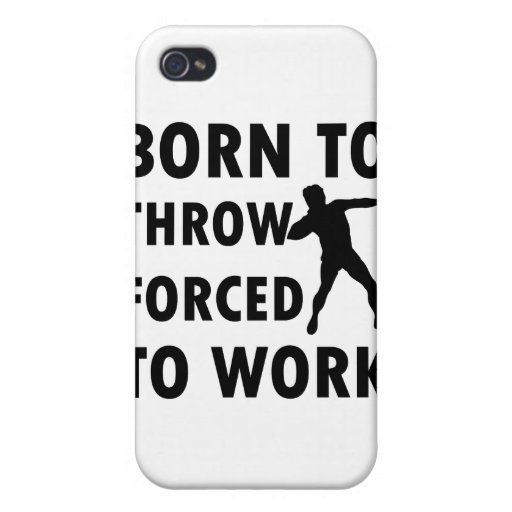 Cool Throw shotput Designs iPhone 4/4S Covers