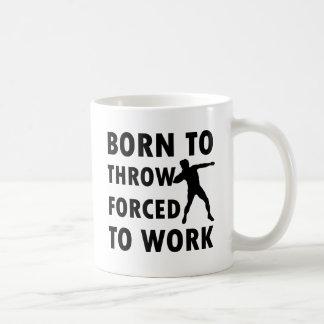 Cool Throw shotput Designs Coffee Mugs