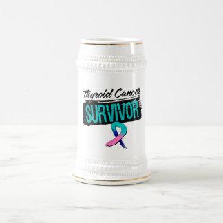 Cool Thyroid Cancer Survivor Coffee Mugs